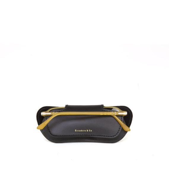 Porta óculos Briller Case preto Escudero
