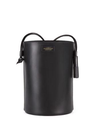 bolsa feminina torvi de couro preta da escudero