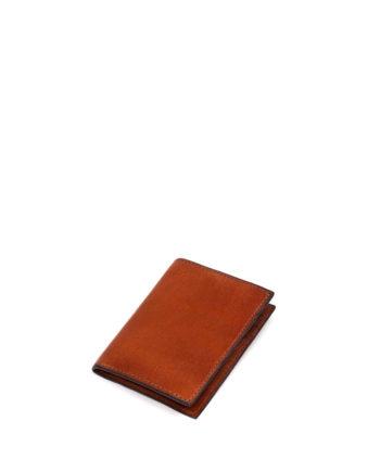 carteira masculina bendt de couro caramelo da escudero