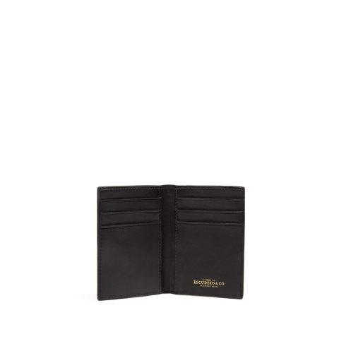 carteira masculina bendt de couro preta da escudero