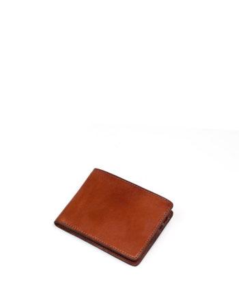 carteira masculina olaff de couro caramelo da escudero