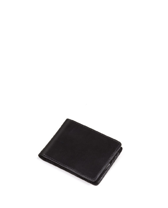 carteira masculina olaff de couro preta da escudero