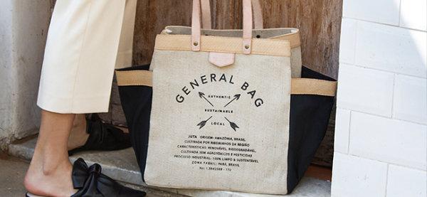 bolsa general bag do projeto sustentável escudero