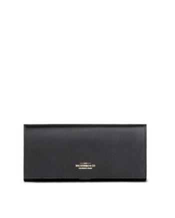 carteira feminina marja de couro preta da escudero